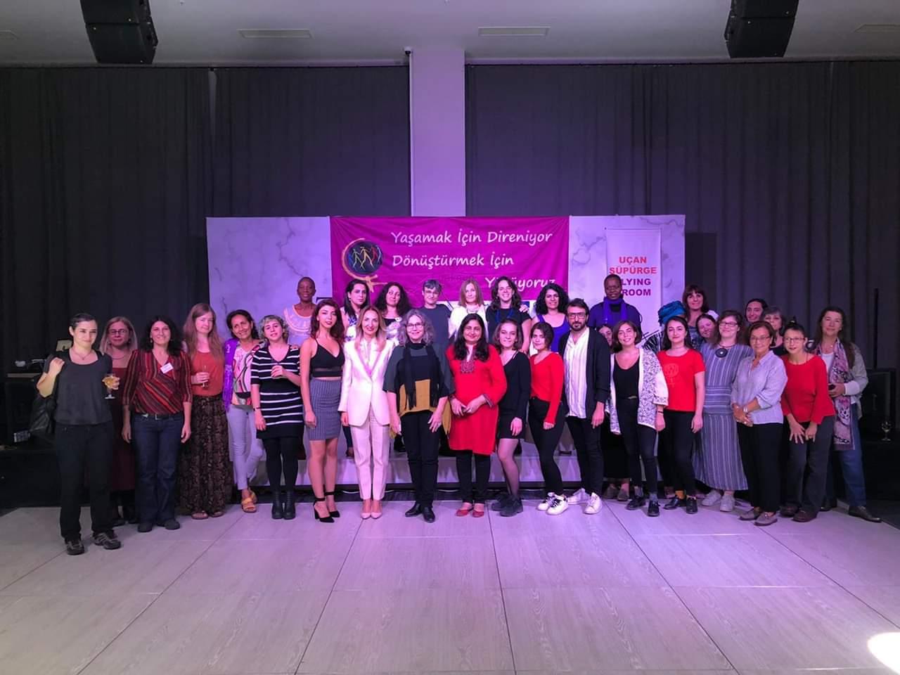 Dünya Kadın Yürüyüşü Uluslararası Komite Toplantısı Ankara'da Yapıldı