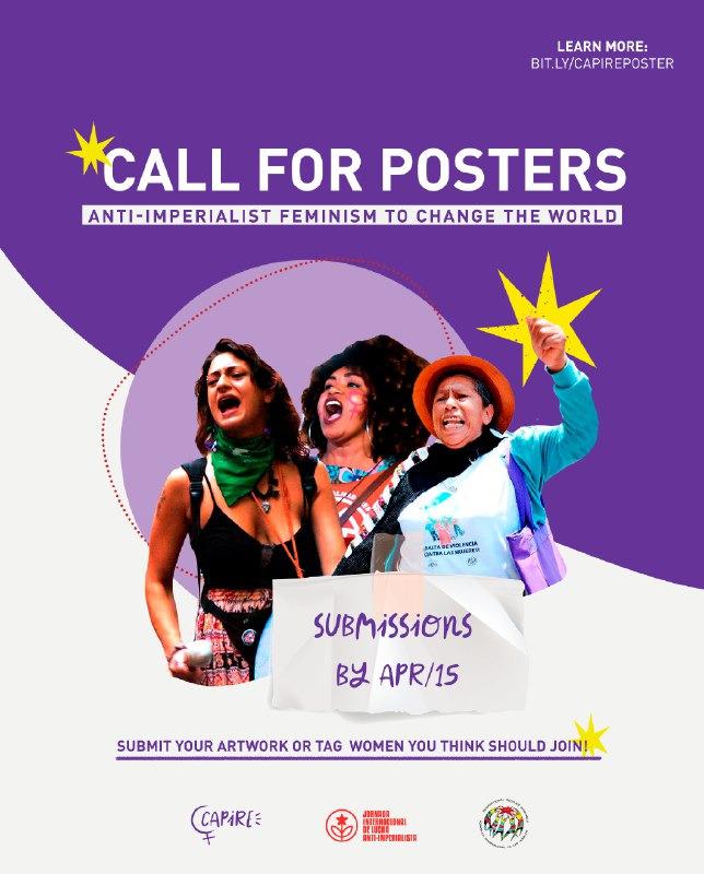 Poster Çağrısı: Antiemperyalist Feminizm Dünyayı Değiştirecek